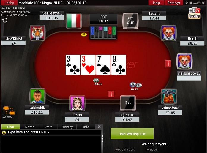 Poker stats ipad