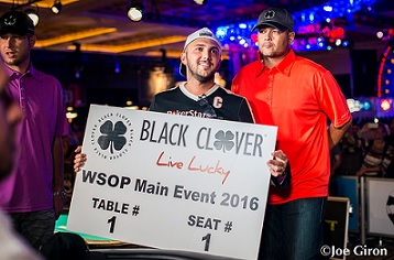WSOP ME 2015 finaletafel bubbleboy
