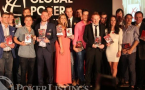 Lasy years European Poker Award winners.