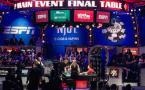 WSOP Main Event finaletafel 2015