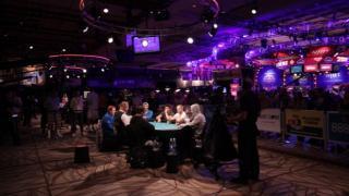 side table WSOP 2015
