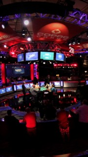 WSOP Main Event Fisheye 2