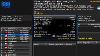 888poker WSOP Steps