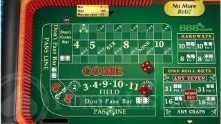online craps bets