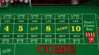 online craps come bets