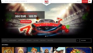 N1 Casino Startseite