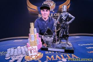 BOM 2016 winner Robert Berglund