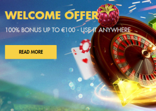 welcome bonus online casino