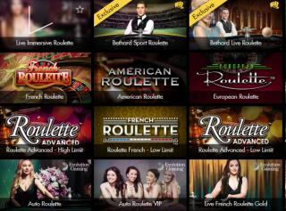 roulete casino spellen