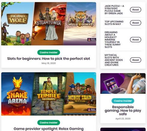 Boom Casino Experts Area