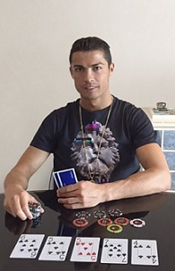 cristiano ronaldo poker home game