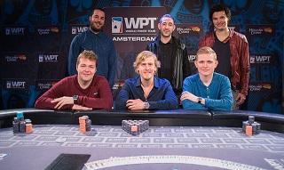 finaletafel WPT Amsterdam Main Event