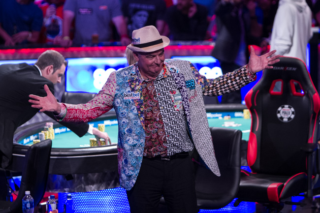 WSOP Main Event 2017 - finalist - John Hesp
