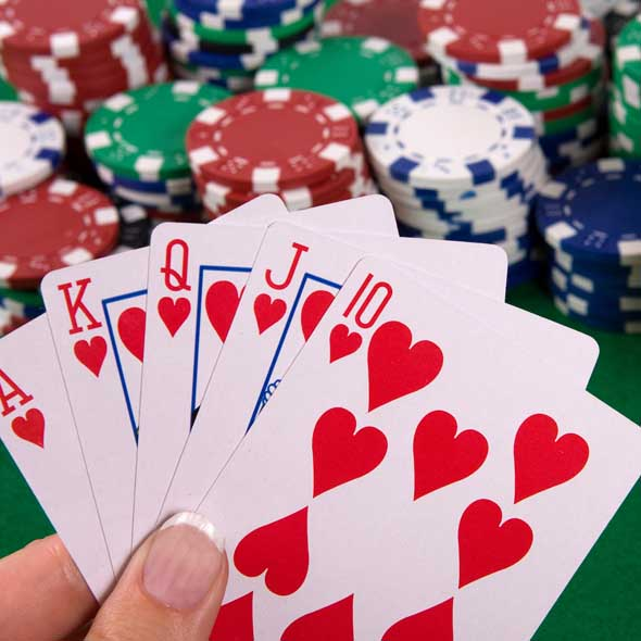 Full flush poker