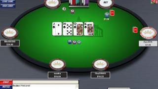 Inter Poker tafel