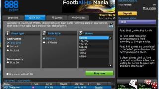 888 Poker lobby