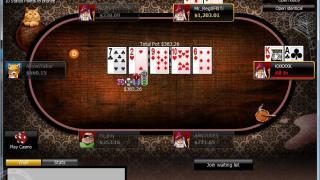 888 Poker tafel