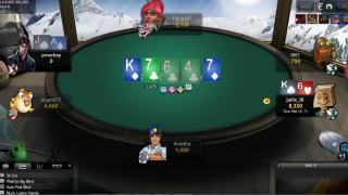 Betsafe Poker tafel