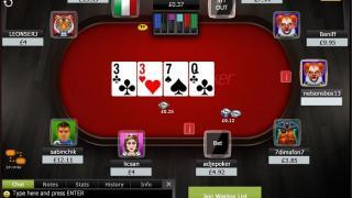 Ladbrokes Poker tafel