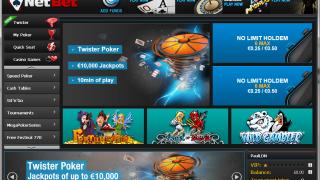 NetBet Poker lobby