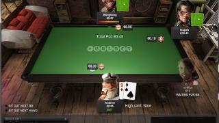 Unibet Poker tafel