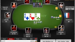 Titan Poker tafel