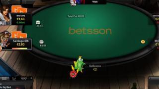 Betsson Poker tafel