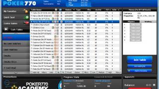 Poker770 lobby