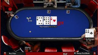 RedKings Poker tafel