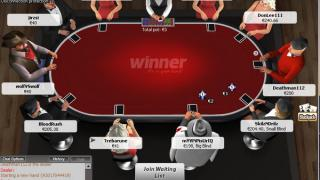 Winner Poker tafel