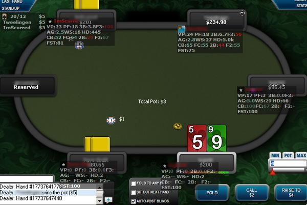 Poker next door online