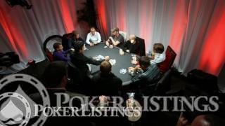 WSOPE 2011 finale tafel
