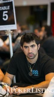 Jesse Sylvia2013 WSOP EuropeEV0710K NLH Main EventDay 1BGiron8JG1814