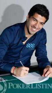 Luis Surez ambassadeur 888poker