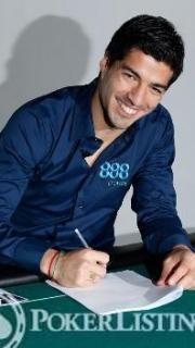 Luis Surez ambassadeur 888poker2