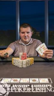 WSOP Bracelet Winner Darko Stojanovic2013 WSOP EuropeEV035K Mixed MaxFinal TableGiron8JG0668