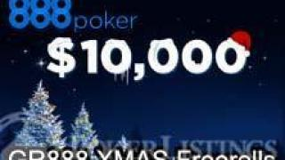 888poker Xmas giveaway