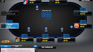 888poker screen shot