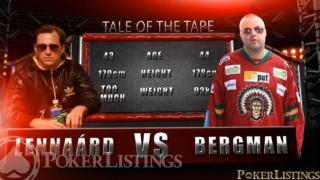 Lennaárd vs. Bergman: match van schaken, boksen en poker bij BOM