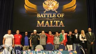 Battle of Malta finale tafel
