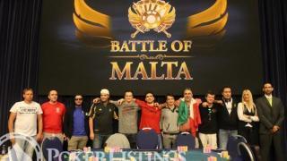 Battle of Malta finale tafel
