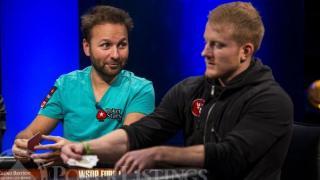 Daniel NegreanuJason Koon2013 WSOP EuropeEV0725K NLH High RollerFinal TableGiron8JG3193