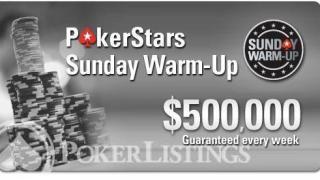 PokerStars Sunday Warm Up
