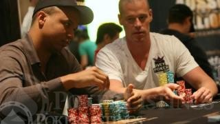 Phil Ivey en Patrik Antonius