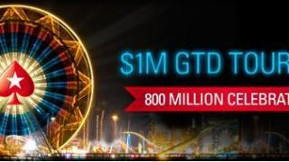 PokerStars 800 miljoenste hand