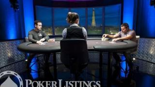Heads UpDan OBrienDarko Stojanovic2013 WSOP EuropeEV035K Mixed MaxFinal TableGiron7JG8951