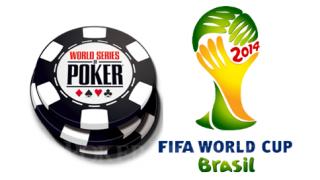 WK voetbal vs WSOP