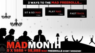 mad month 888poker