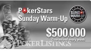 PokerStars Sunday Warm Up2