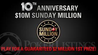 10m sunday million